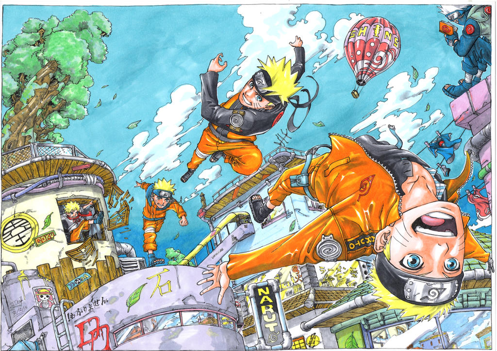 Uzumaki Naruto by Jigmetenzin