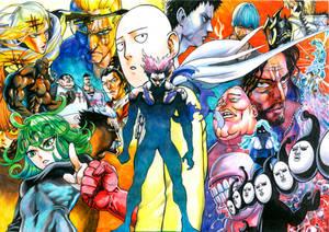 Onepunch-man Monster Association Arc Poster