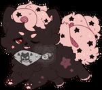 Dark Chocolate Starry Cupcake