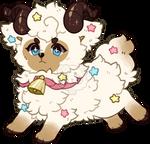 Lamb Cupcake