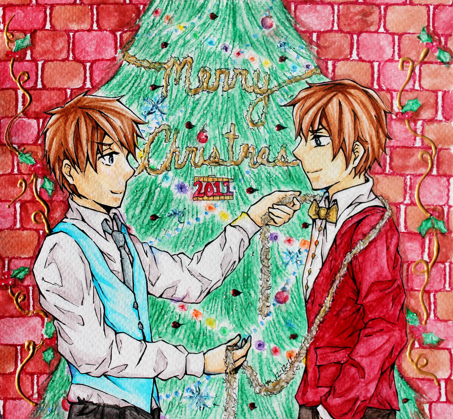 SBxSC: Merry Christmas 2011 by MoPotter