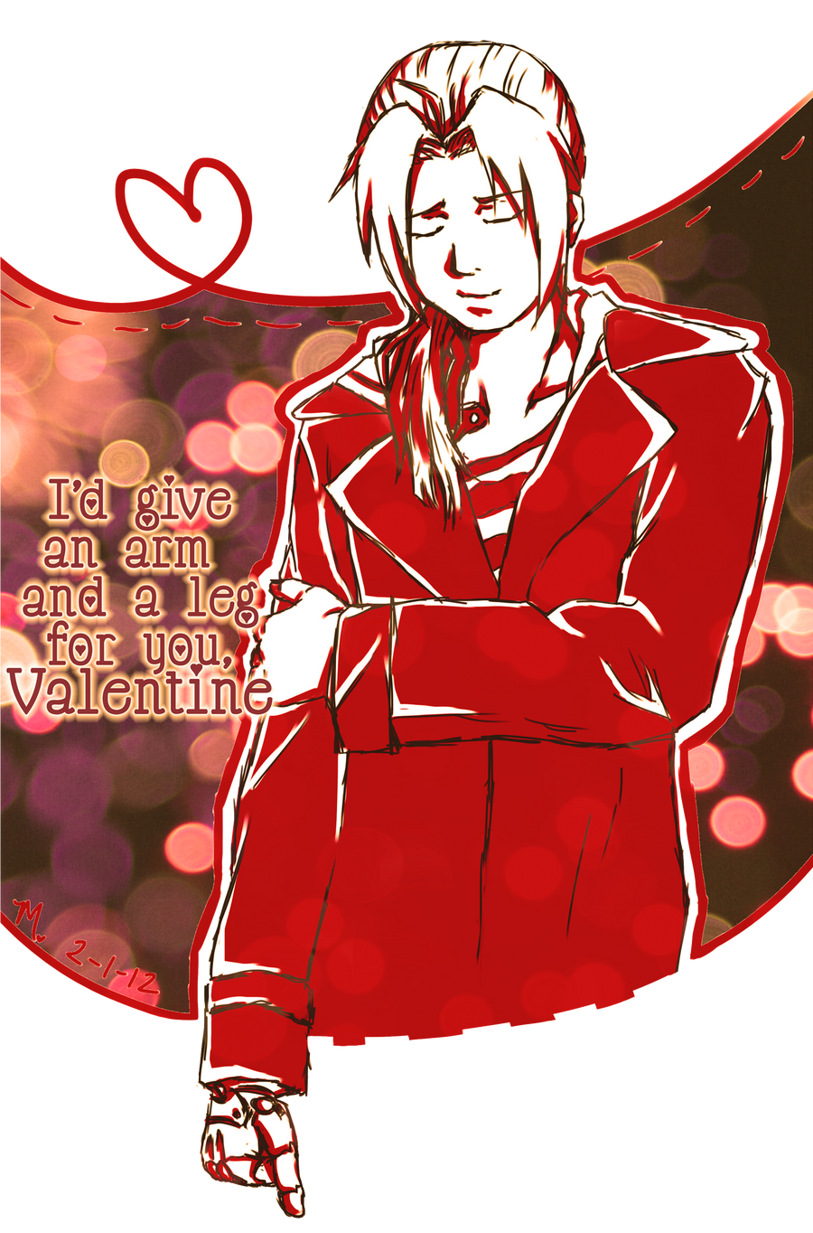 Be Ed's Valentine?? by MoPotter