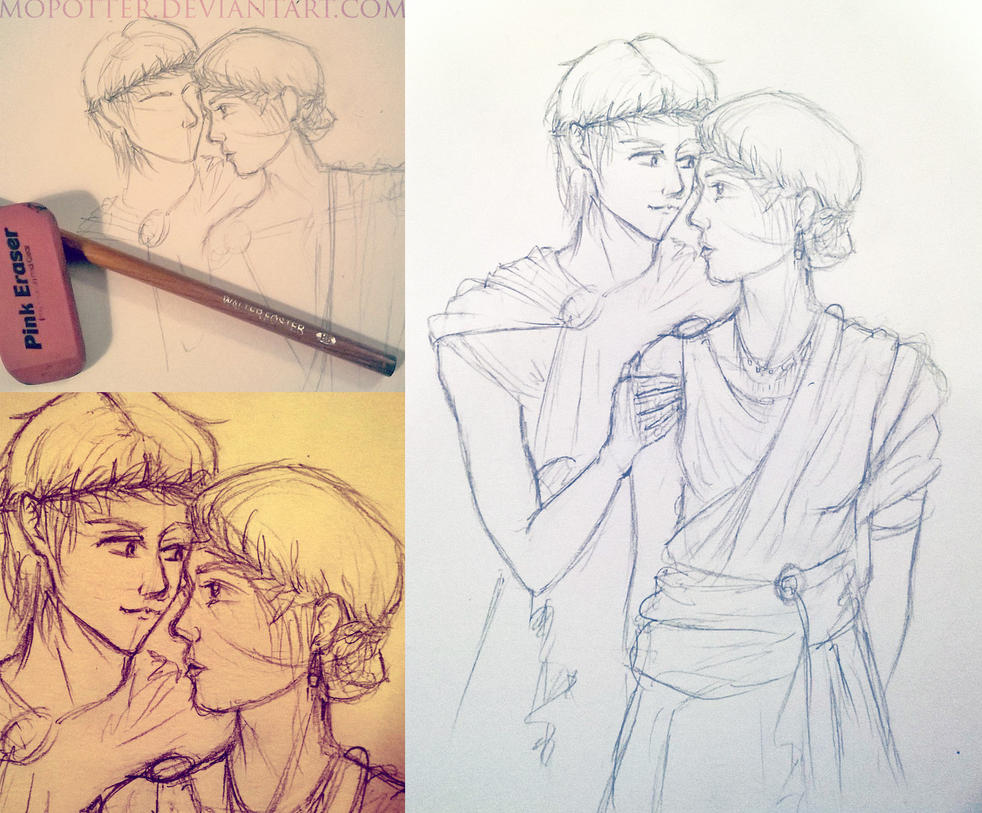 Percabeth...sort of. by MoPotter