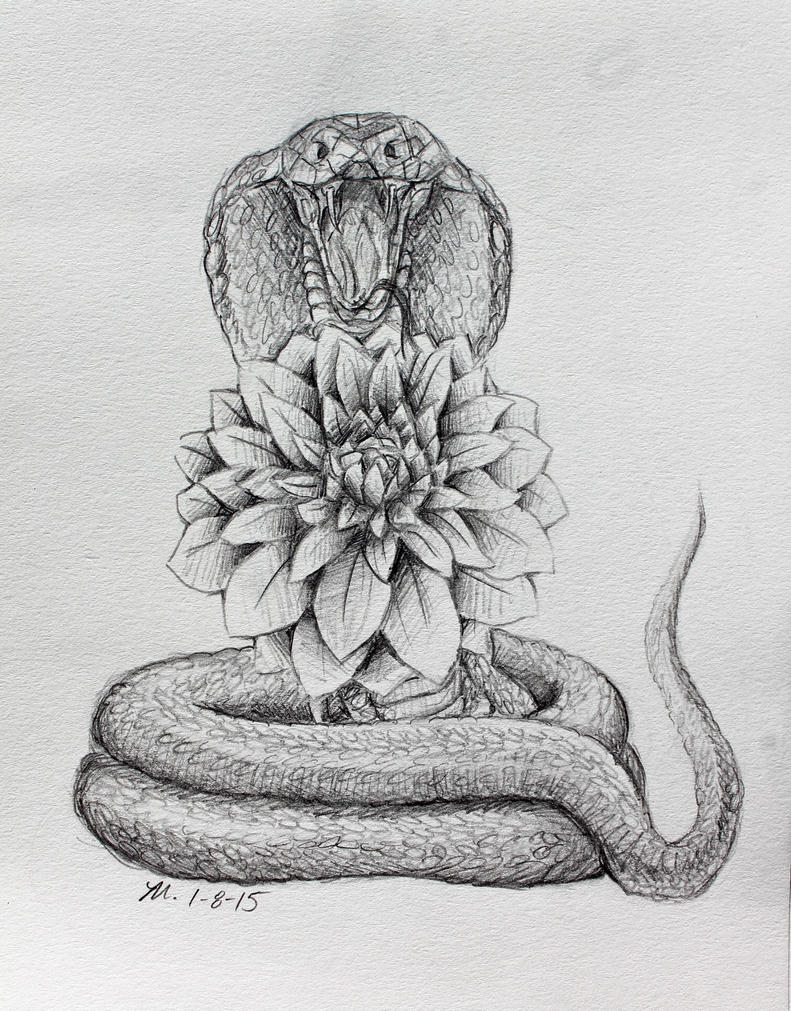dahlia and cobra tattoo design by mopotter on deviantart. Black Bedroom Furniture Sets. Home Design Ideas