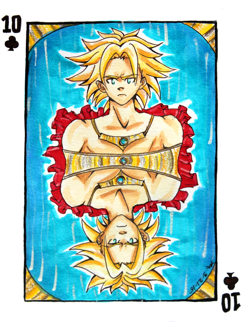 10 - Clubs: Broly by MoPotter