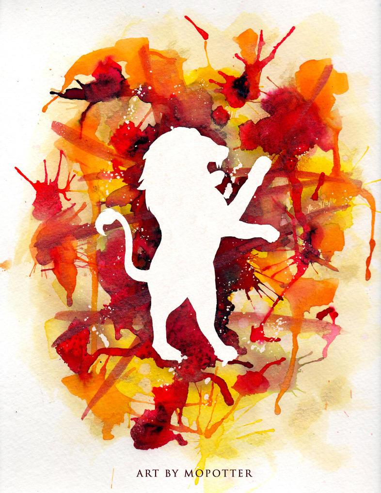 Watercolour Painting Tutorial Paint A Lion