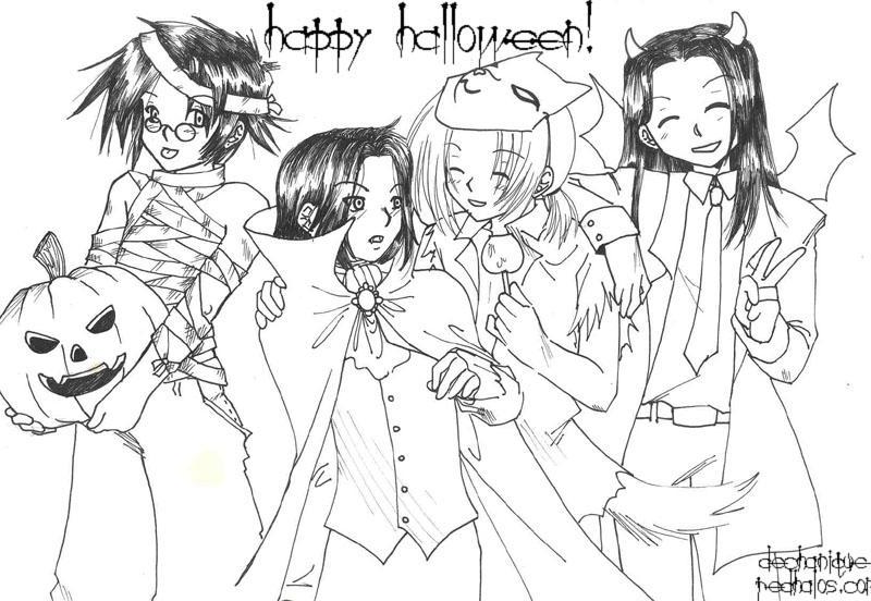 halloween marauders by DeannaEchanique