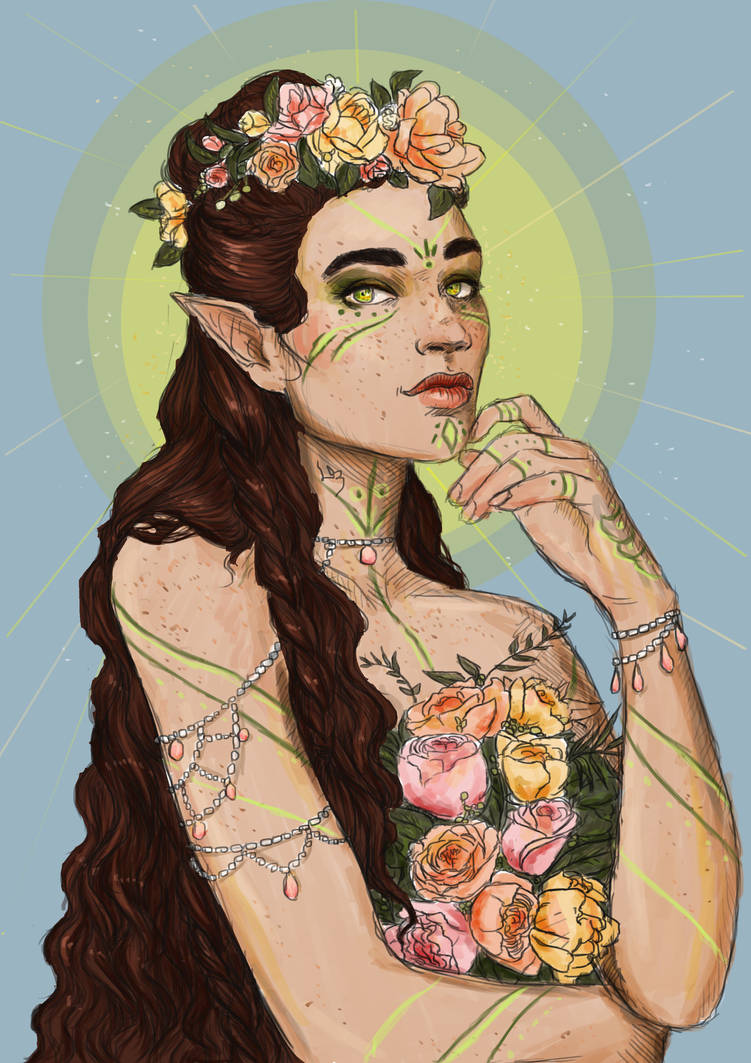 Yavanna - Queen of the Earth by Sempern0x
