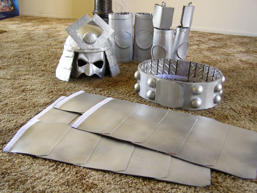 Silver Samurai progress by princemercury1
