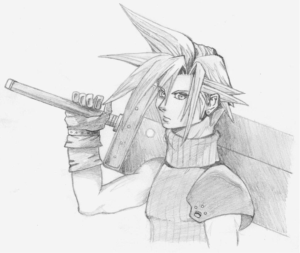 Cloud Strife by LiquidFantasy