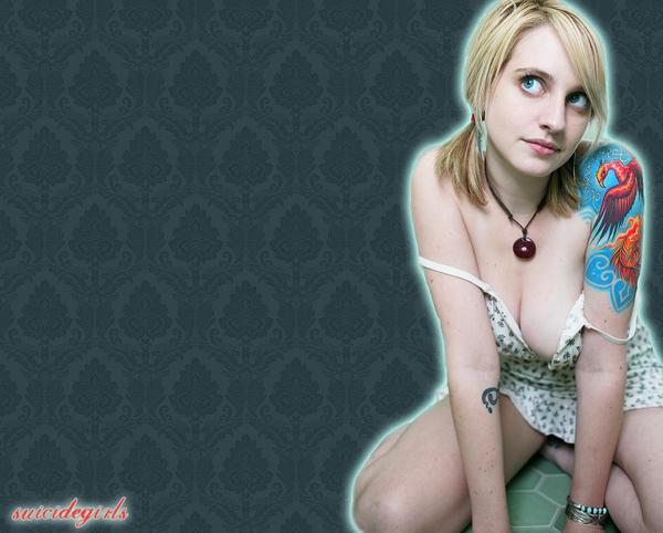 Rigel's little dress by SuicideGirls