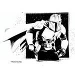The Mandalorian (High Contrast)