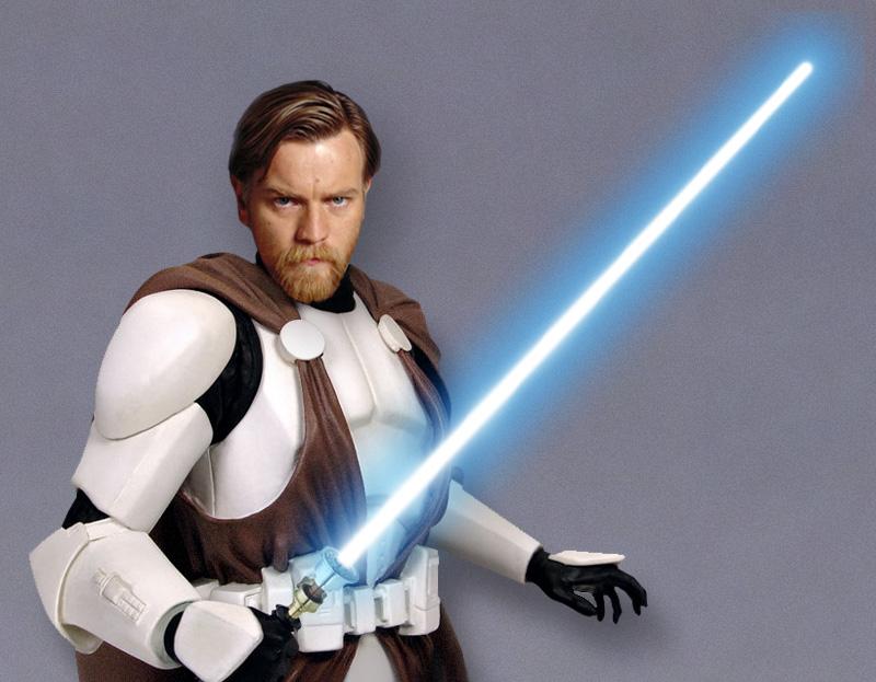 Obi-Wan Kenobi in Clone Armor by Laubi