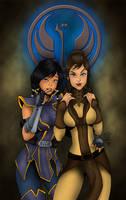 Jedi recruitment poster - colored by Laubi