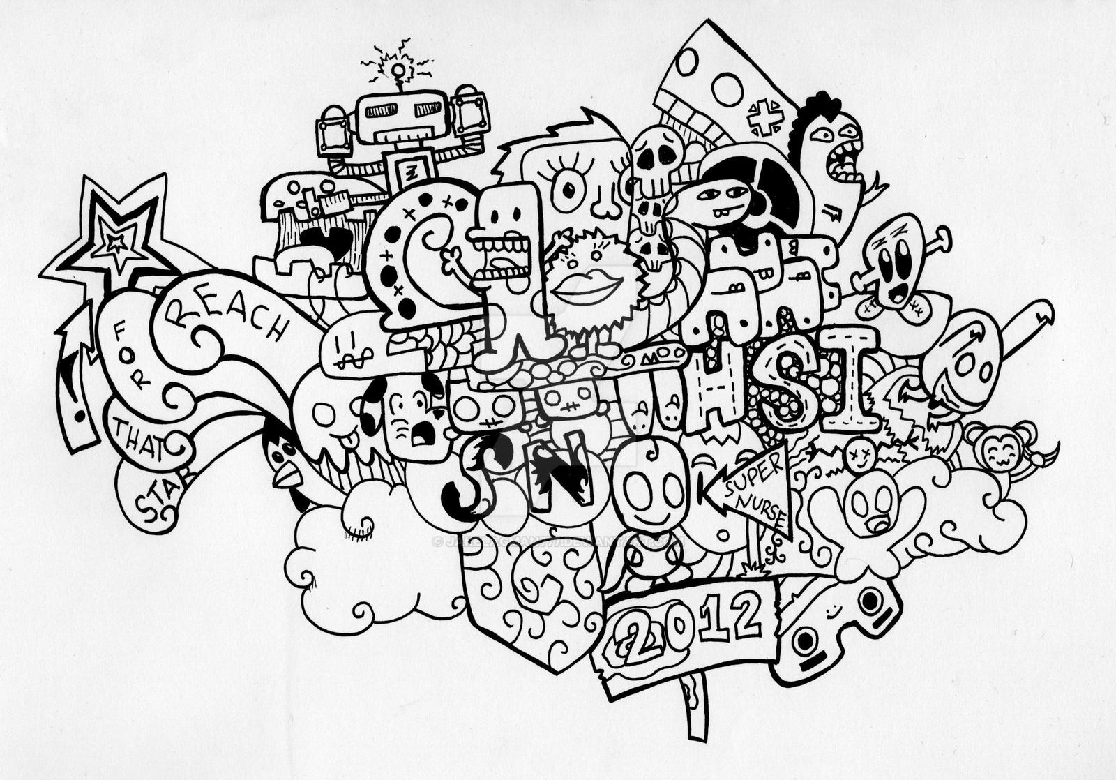 Scribble Drawing Game : Doodle art by jakelagman on deviantart