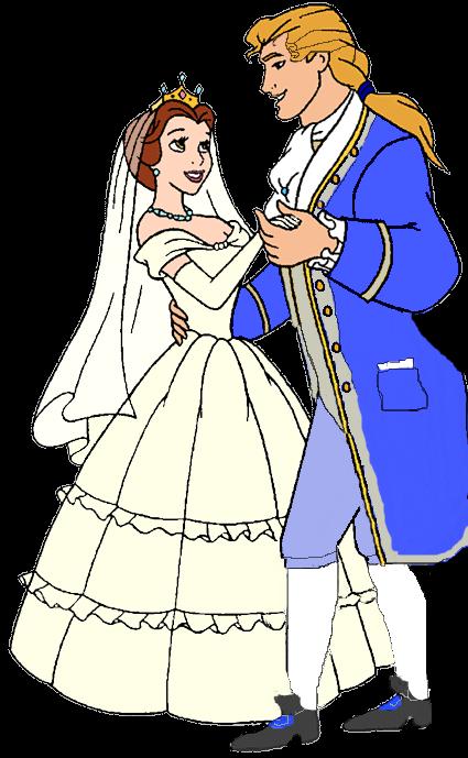 Belle And Prince Adam By JeffersonFan99