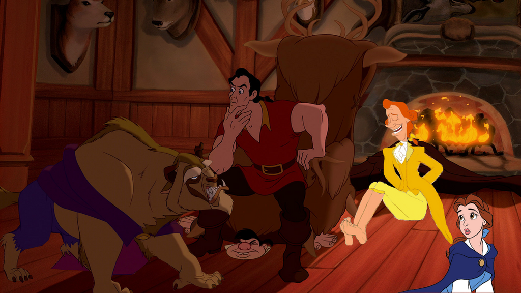 'Beauty and the Beast' First Look Tease Cogsworth, Lumiere, Gaston (Photos)