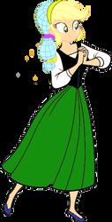 Applejack as a medieval peasent by JeffersonFan99