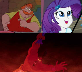 Ector and Rarity likes Jafar's Defeat by JeffersonFan99
