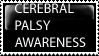 Cerebral Palsy Awareness Stamp by Dragonnerd445