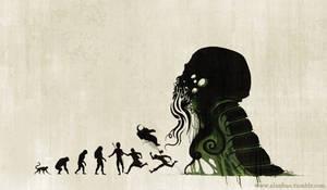 Lovecraftian Darwinism