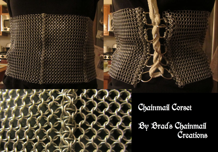 Chainmail Corset
