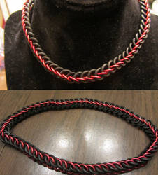 Red Half Persian Stretchy Choker