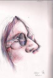 Steven Wilson cross hatch