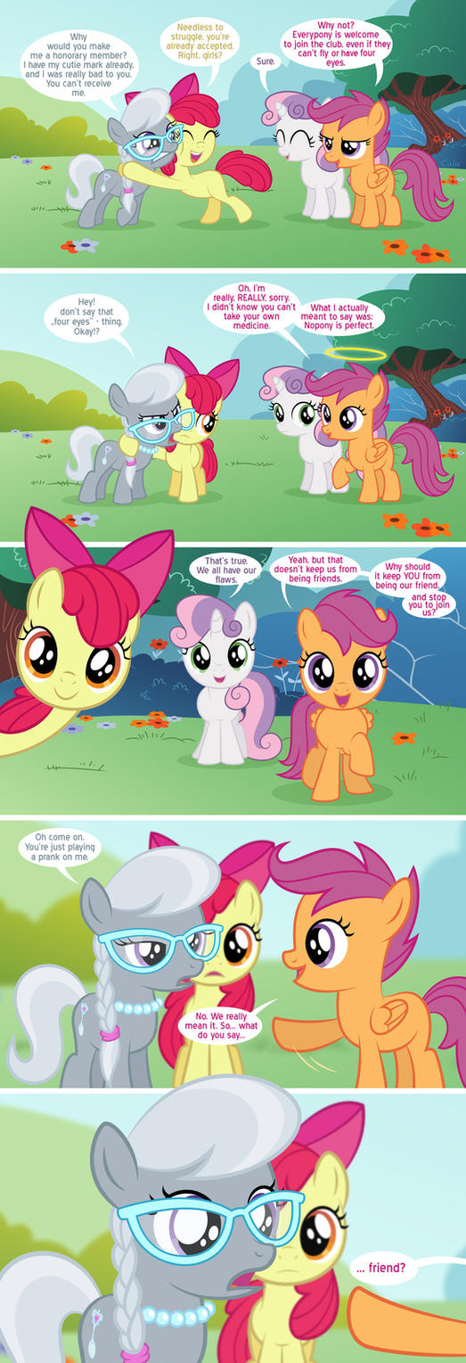 Surprise for Silver Spoon by Culu-Bluebeaver