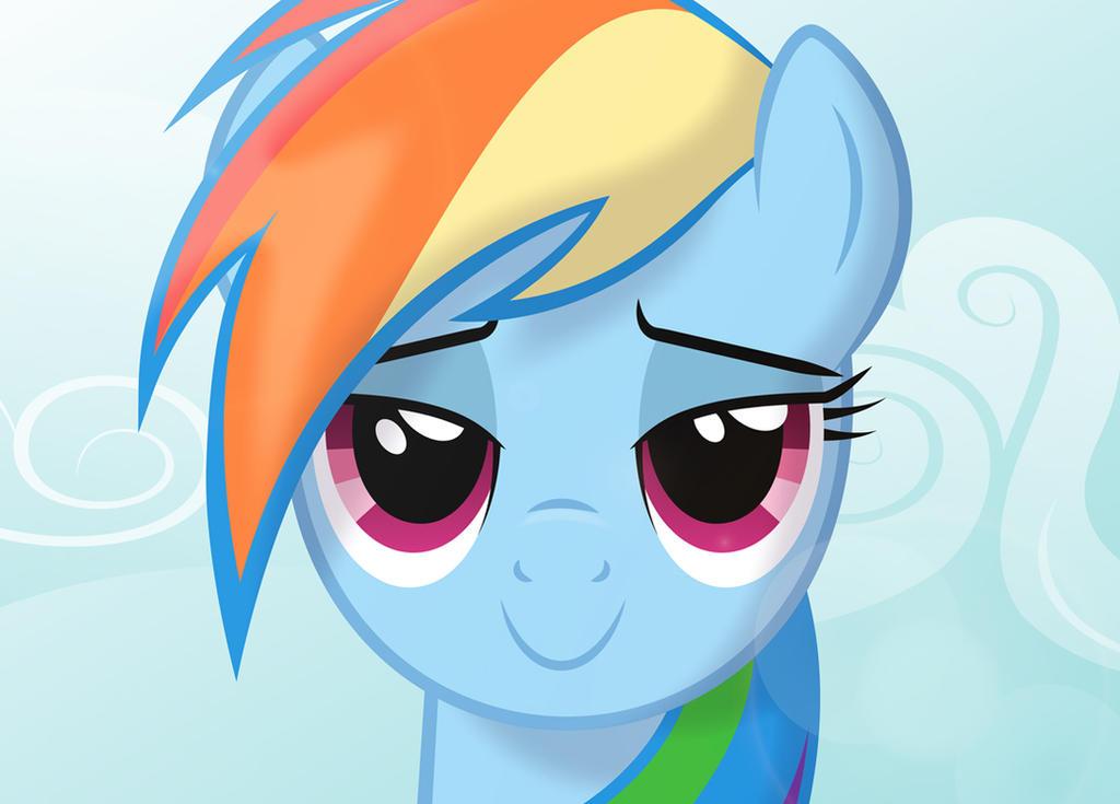 Rainbow Dash Plot Rainbow Dash s eyes by Culu-