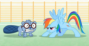 Exercises with Rainbow Dash