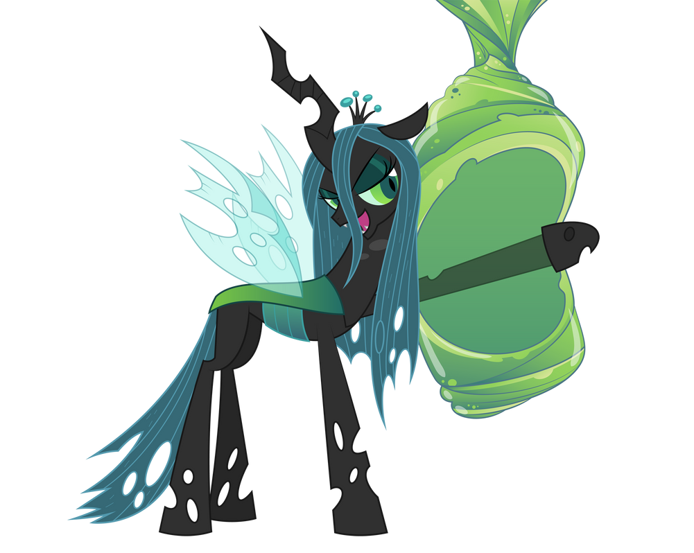 Queen Chrysalis vector