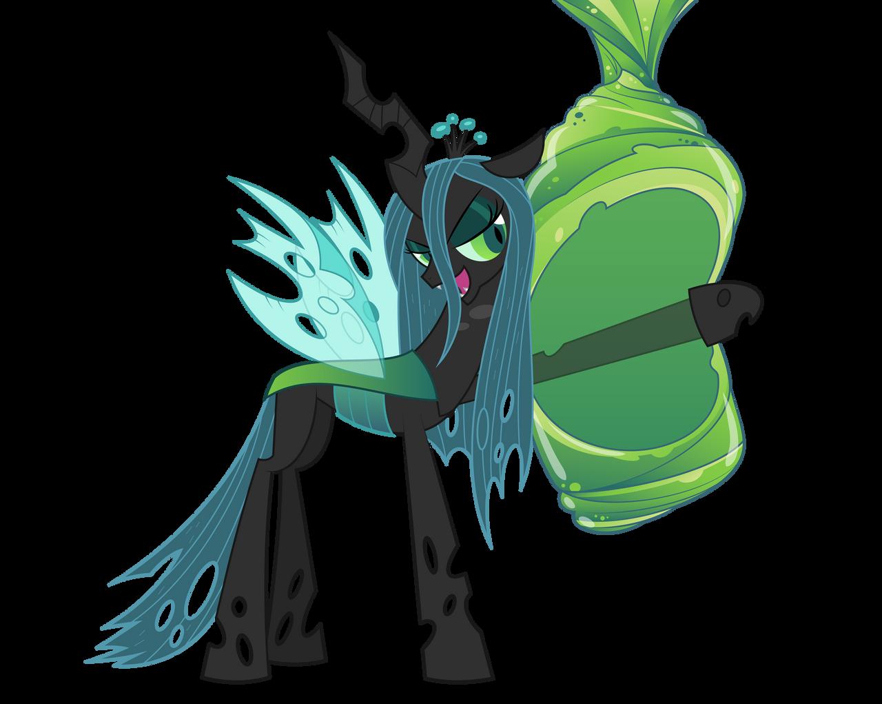 Queen Chrysalis vector