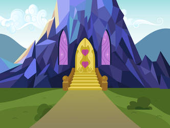Twilight's castle - door