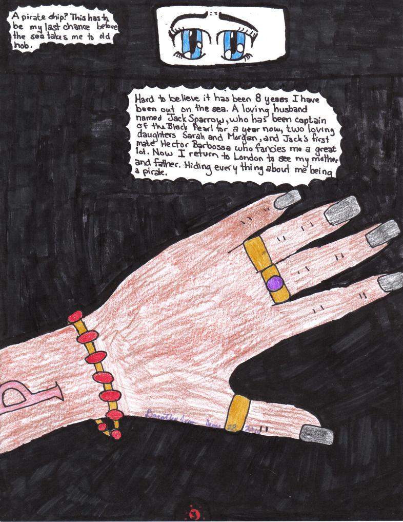 Pirate Lady Vol 1 Page 3 By Yaten Kous Girl On Deviantart