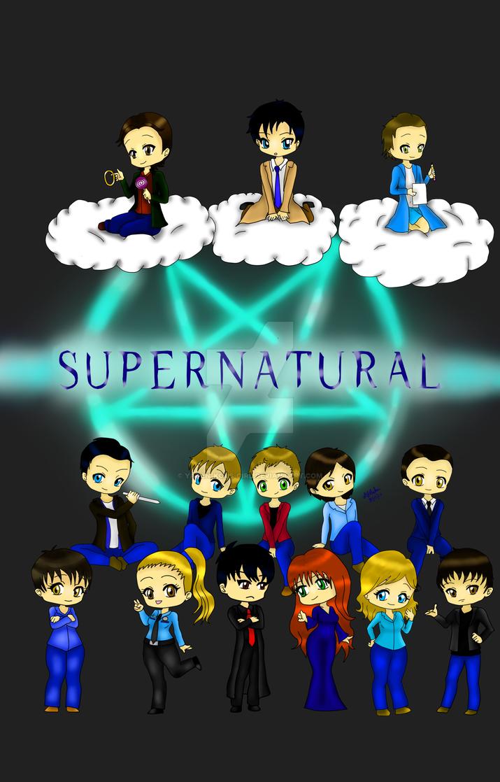Superntaural Poster by Yaten-Kous-Girl