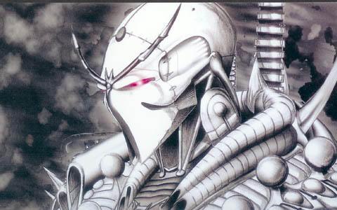 Cyborg ninja by getinked024