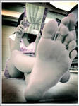 Feet and Harry Potter