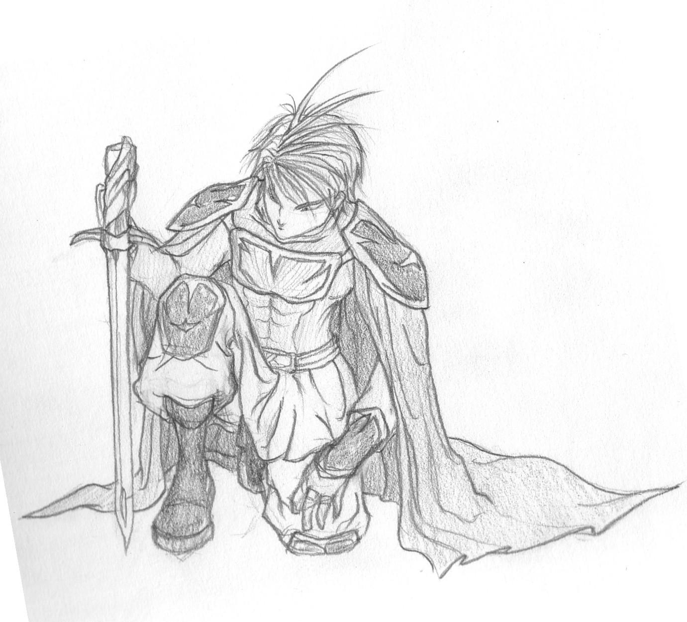 Kneeling Knight By AladdinsFan On DeviantArt