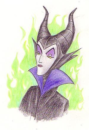 Ugly Maleficent By Aladdinsfan On Deviantart