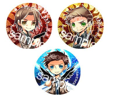Team Free will buttonz by WXYZell