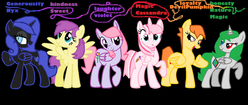 android mane 6 wallpaper - photo #8