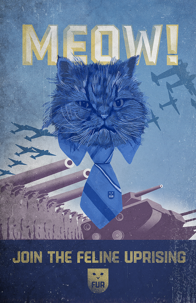 Join the Feline Uprising by MajorGeneralWhiskers