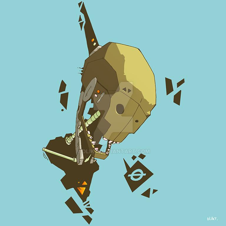 robo-skul by dlikt