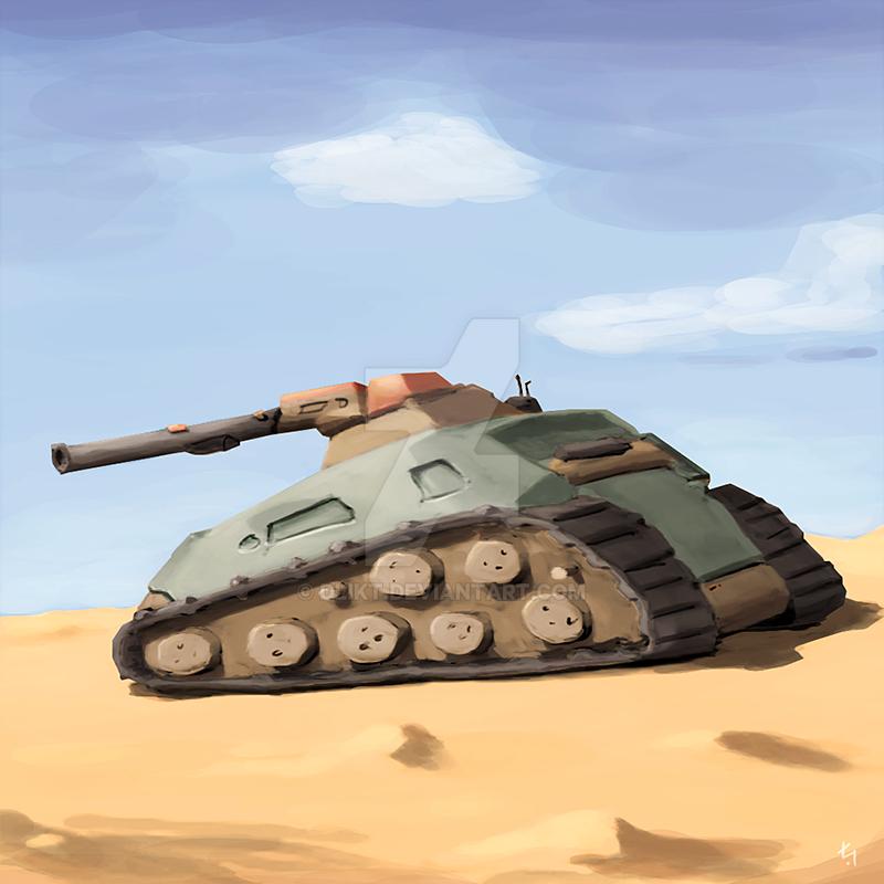 Dune 2 tank by dlikt