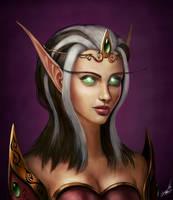 Blood Elf by buynsanjaa