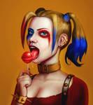 Harley Quinn and Her Dessert