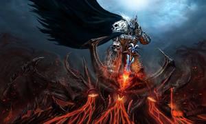 Lich King Killing Diablo