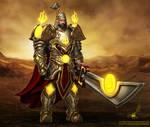 Warcraft Style Mongolian Paladin