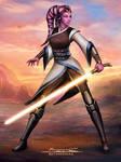 Star Wars Jedi Tali Sroka Commission